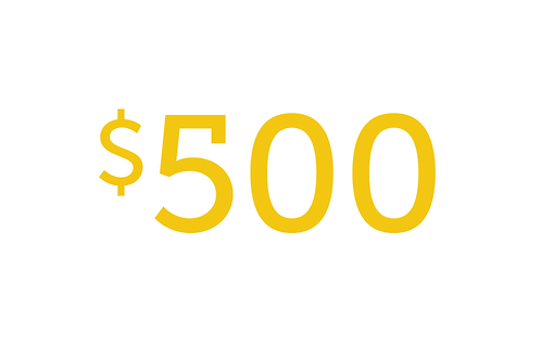 $500 Gift to Educate