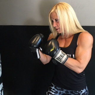 Kris Shanahan boxing workout