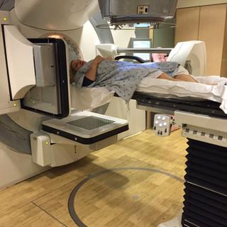 Kris Shanahan radiation therapy at Johns Hopkins Hospital