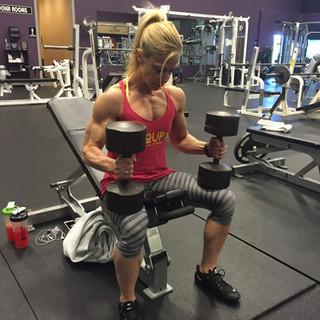 Kris Shanahan workout