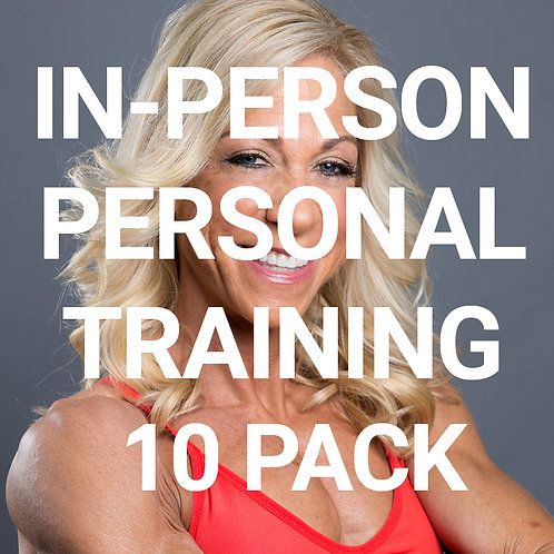 10 personal training sessions with Kris Shanahan