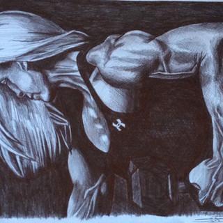 Kris Shanahan- Stephen Bardsley Art
