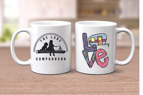 11 oz. Love Camping Mug