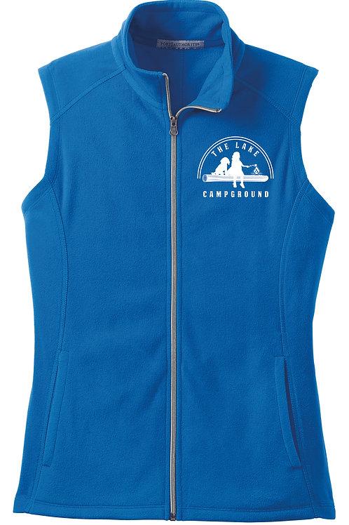 Embroidered Ladies Fleece Vest