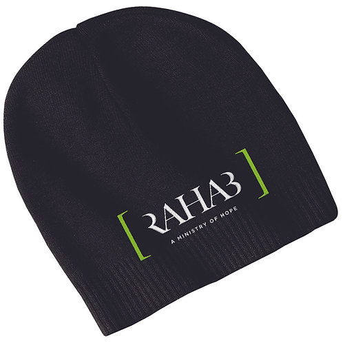 Embroidered 100% Cotton Beanie