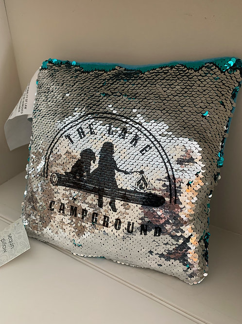 The Lake Sequin Flip Pillow