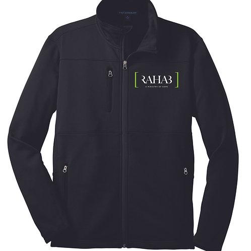 Embroidered Men's Pique Fleece Jacket - 2 colors
