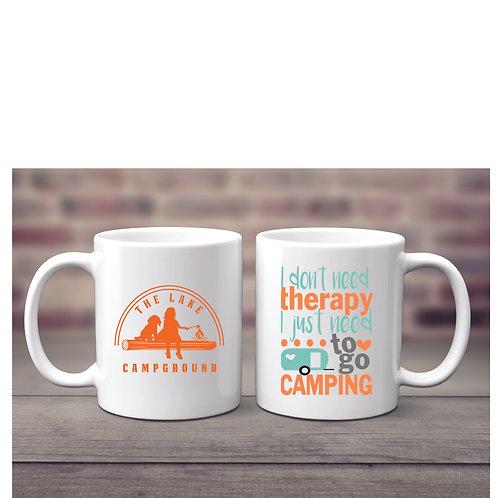 11 ounce Camping Therapy Mug