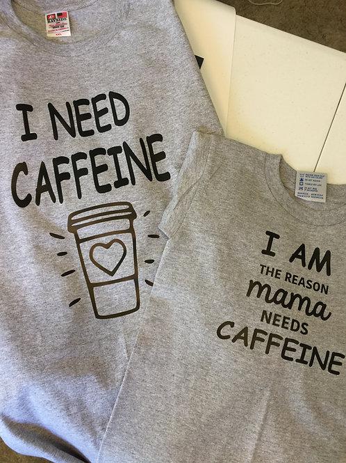 Mom and Child Caffeine