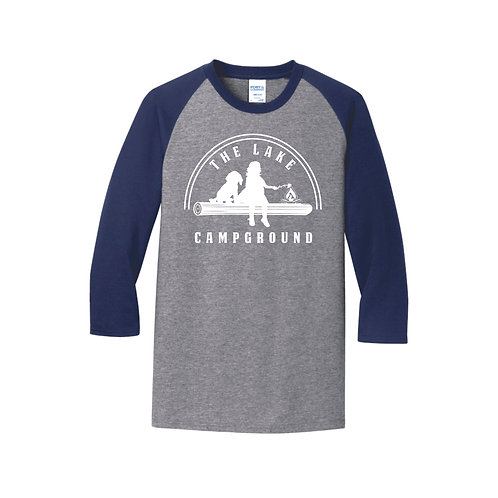 Lake Raglan Shirt 3/4 sleeves Adult and Child