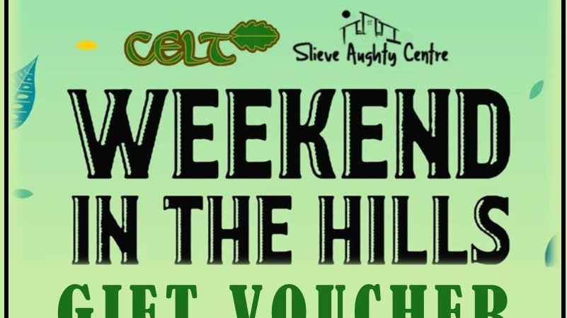 Gift Voucher for Weekend in the Hills MAY 2021