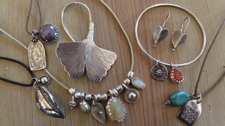 Silver and Mixed Metal Jewelery