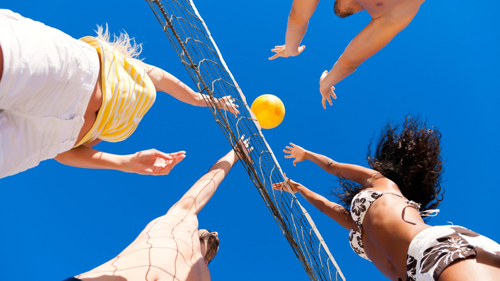 沙灘排球比賽