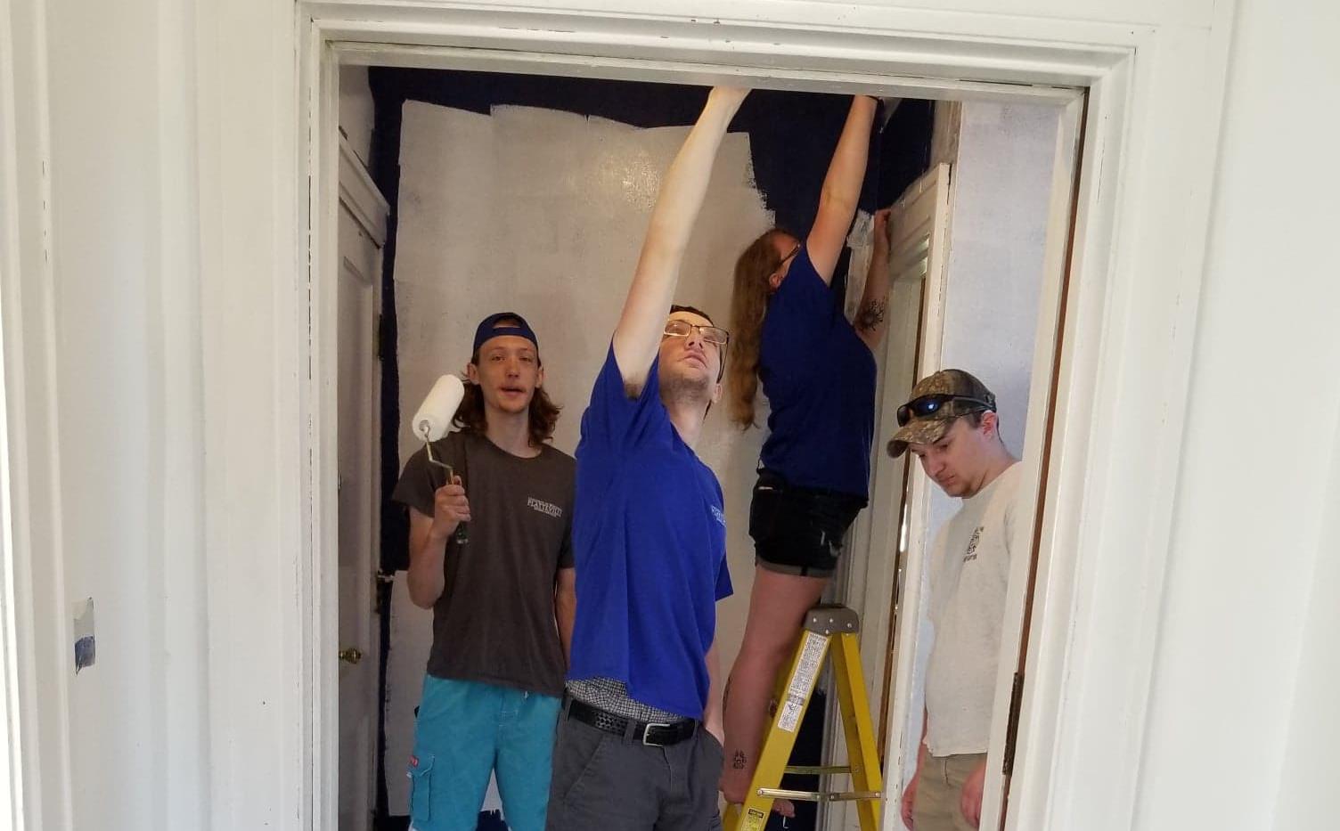 5-2020Actives Painting Blue Walls.jpg