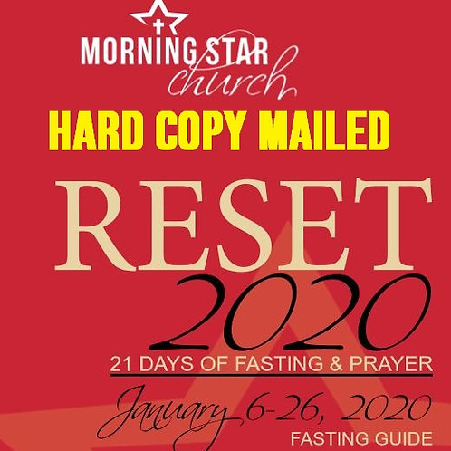 RESET 2020 21-Day Fast Guide & Journal