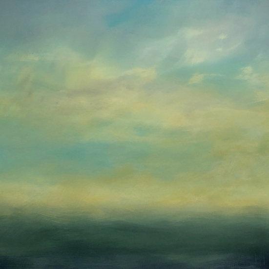 "The Falling Sky    36"" x 36"""