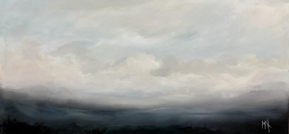 "From the Spirit in the Sky 24""  x 48"""