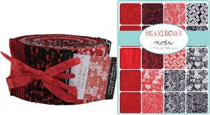 Batik Fire Ice II Jelly Roll