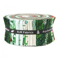 "RJR Studio Evergreen 2.5"" Strips Jelly Roll"