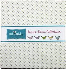 Riley Blake Swiss Dots- Lime Layer Cake