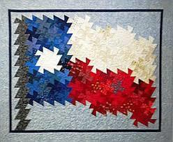 Texas Flag Pinwheel Twist Quilt Kit
