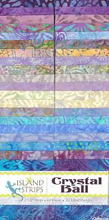 Batik Crystal Ball Strips