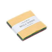 Bella Solids Mini Charm Pack