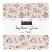 My Redwork Garden Charm Pack
