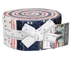 Moda Stars Stripes Jelly Roll
