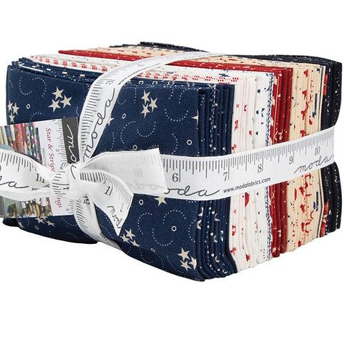 Moda Stars and Stripes Fat Quarter Bundle