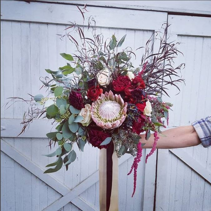 Sarah Rose Bridal Bouquet