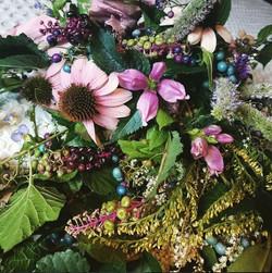 porcelain berry arrangement 1
