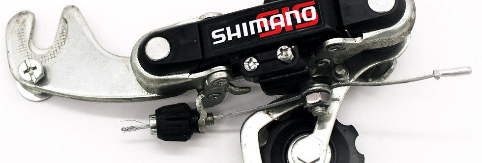 DERAILLEUR SHIMANO RDTY18 MTB 6 SNELHEDEN