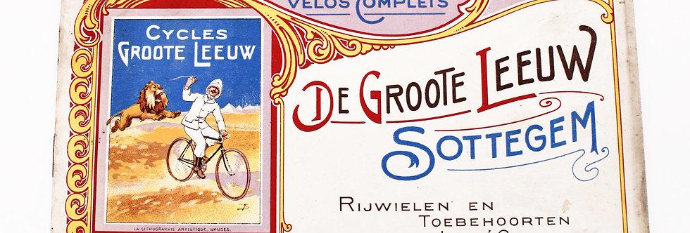 CATALOGUS DE GROTE LEEUW SOTTEGEM 23 OP 15,5 CM