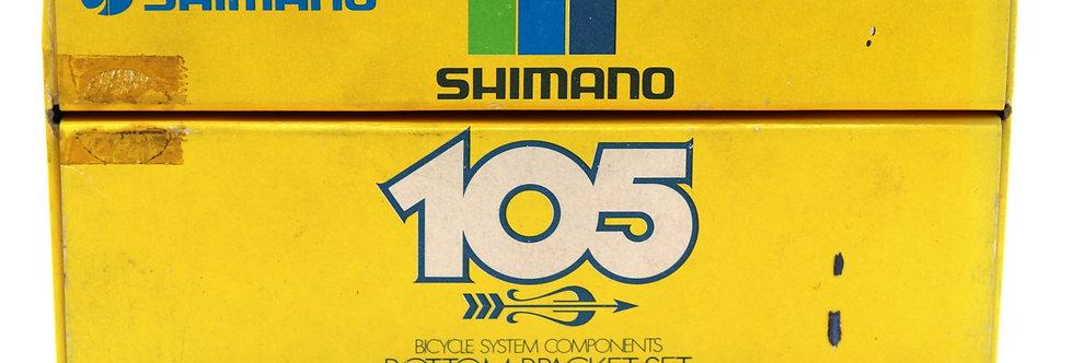 SHIMANO 105 BODEMBEUGELSET CHROOM 1.37X24T