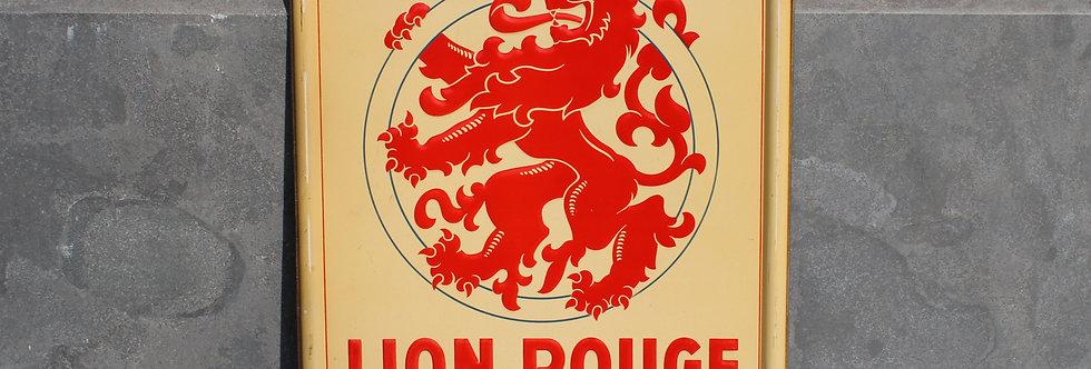 CYCLES LION ROUGE LES MEILLEURS BLIK 50 CM X 35 CM