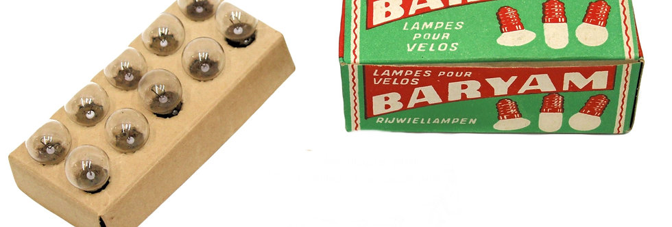 BARYAM LAMPEN 12 V X 0,5