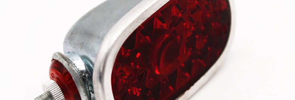ACHTERLICHT MET REFLECTOR CHROOM