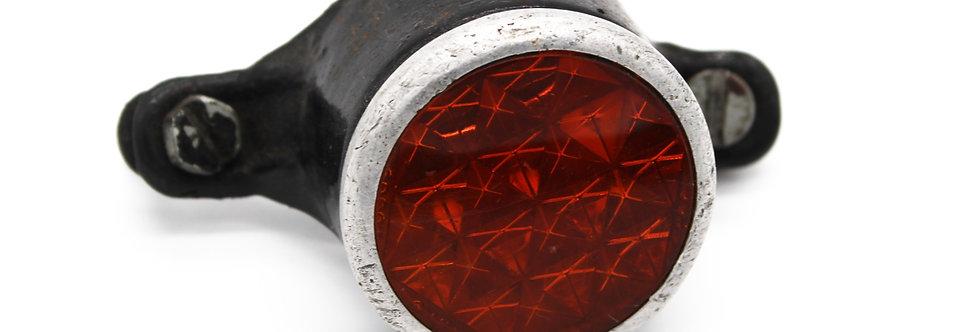 REFLECTOR ZWART GLAS: 4 CM