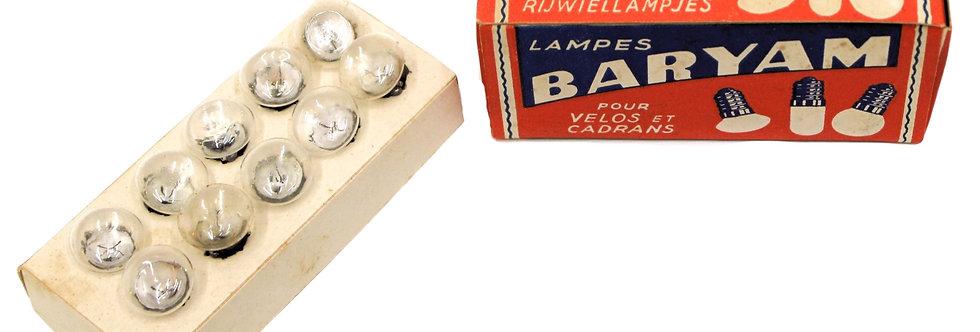 BARYAM LAMPEN 3,5 V X 0,2
