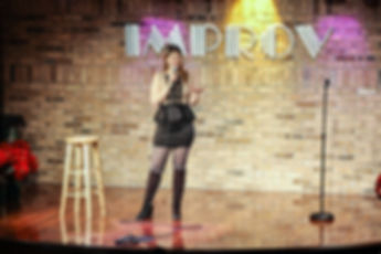 Melissa Richelle Improv Comedy Club Schamburg