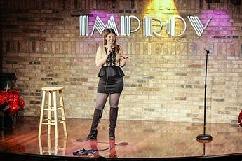 Melissa Richelle Improv Comedy Club Schamburg