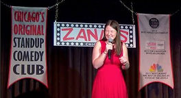 Melissa Richelle Stand Up Comedian Zanies Chicago