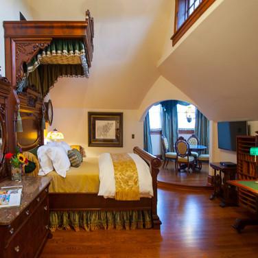 opulent bedroom suite