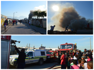 Fire in Vrygrond