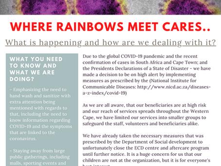 COVID-19 outbreak statement