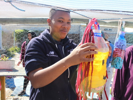Art and Recycling Project in the community of Vrygrond