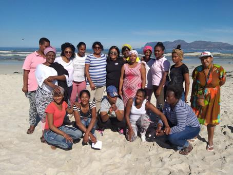 Siyazenzela goes beaching