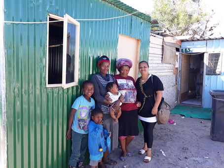 New home for fire victims