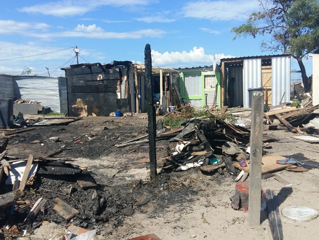 Fire started by 7 year old destroys 8 homes